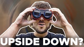 Can you climb in 𝗨𝗣𝗦𝗜𝗗𝗘 𝗗𝗢𝗪𝗡 GOGGLES? by Bouldering Bobat