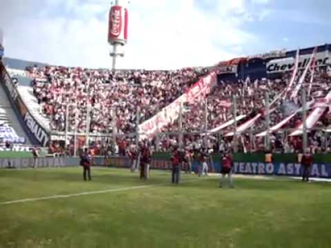 La Hinchada de Huracan vs Velez 2009 - La Banda de la Quema - Huracán