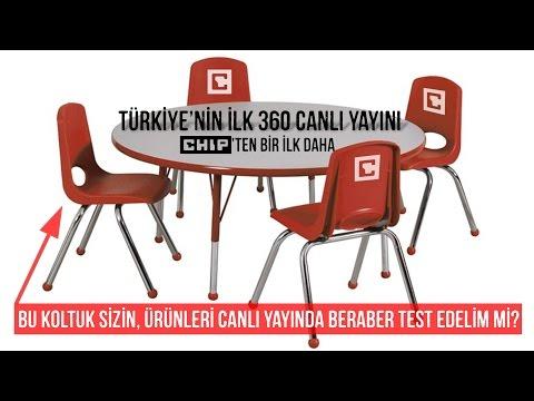 Türkiye'nin ilk 360 derece canlı yayını - Kaçıranlar için kasetten canlı :)