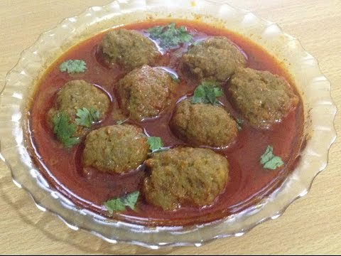 Mutton Kofta curry  (meatball) recipe by chef Shaheen