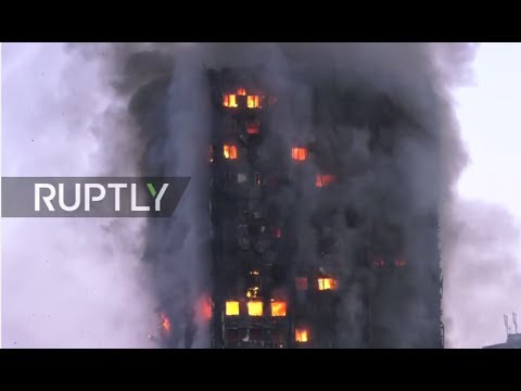 LIVE: Huge fire rips through tower block on Latimer Road, west London - Thời lượng: 8:58:20.