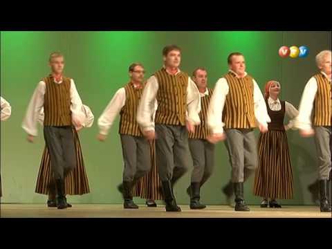 Valmieras apriņķa deju kolektīvu skate Valmierā