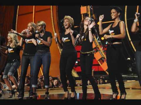 Just stand up – Miley Cyrus, Beyoncé, Rihanna, Leona Lewis, Mariah Carey & more