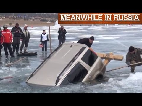 Jak dostat Hondu z Bajkalského jezera