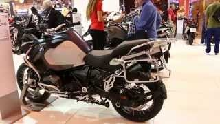 7. 2016 BMW R1200GS Adventure LC Low Chassis/Suspension Walkaround @Motorcycle Live 2015