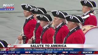 FULL COVERAGE: President Trump Salute to America event