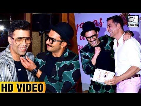Ranveer Singh, Akshay Kumar & Karan Johar's FUNNY