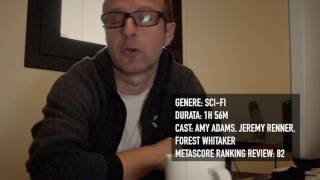 Mini-video-recensione di Arrival (film)