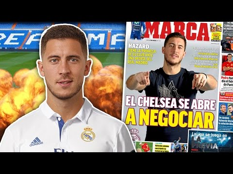 Video: BREAKING: Real Madrid To Break Transfer Record On Eden Hazard For £100 Million?! | Transfer Talk