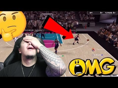 WE USED INVISIBLE KOBE BRYANT AND MATCHED UP AGAINST A SUB!