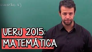 """Olá, aluno! Essa aula faz parte do módulo """"UERJ 2015: Matemática (Questão 1 a 10)"""". Nesse módulo, o professor Paulo César..."""
