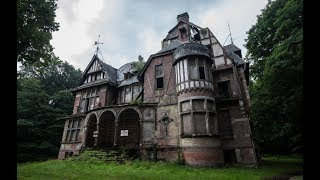 Abandoned Mansion (part.2) LET´S GO INSIDE!! - Chateau Nottebohm / Urban Exploration Belgium
