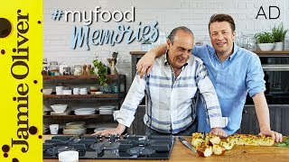 This is a paid AD by Hotpoint. Whenever Jamie makes any bread, particularly Focaccia, it reminds him of getting to know his 'London Dad' Gennaro Contaldo. Making this recipe is how they got to know each other and became such close friends. This Wild Garlic Focaccia is incredibly delicious, give it a try and share your story #MyFoodMemoriesFor more inspiration, visit the Food Memories Hub  http://jamieol.com/HPFocacciaFor more nutrition info, click here: http://jamieol.com/NutritionSubscribe to Food Tube  http://jamieol.com/FoodTubeSubscribe to Drinks Tube  http://jamieol.com/DrinksTubeSubscribe to Family Food Tube  http://jamieol.com/FamilyFoodTubeTwitter  http://jamieol.com/FTTwitterInstagram http://jamieol.com/FTInstagramFacebook  http://jamieol.com/FTFacebookMore great recipes  http://www.jamieoliver.comJamie's Recipes App  http://jamieol.com/JamieApp#FOODTUBEx