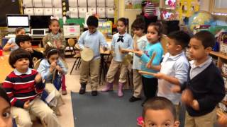 Layering Clave Rhythms with 1st Graders