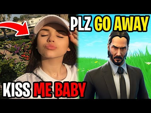 Gold Digger Tries Kissing Me..(Fortnite)