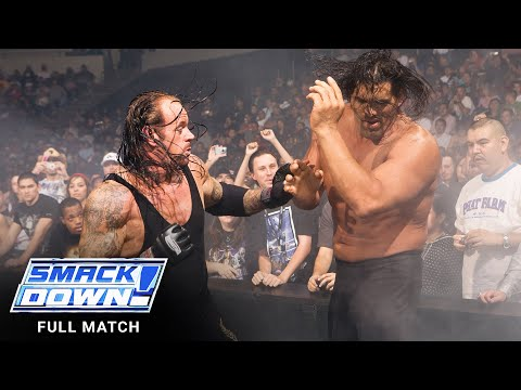 FULL MATCH - The Undertaker vs. The Great Khali – No Holds Barred Match: SmackDown, Nov. 9, 2007