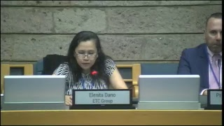 UNEA 3, Opening remarks facilitated by Elenita Dano
