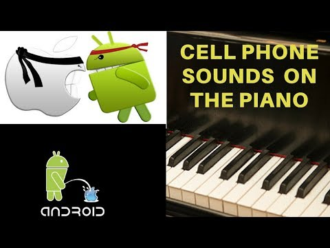 ringtone - Tutorial in now up: http://www.youtube.com/watch?v=ry7_tQGcO2I Cell phone ringtone/themes on the piano (played by ear) from some of the top carriers and comp...