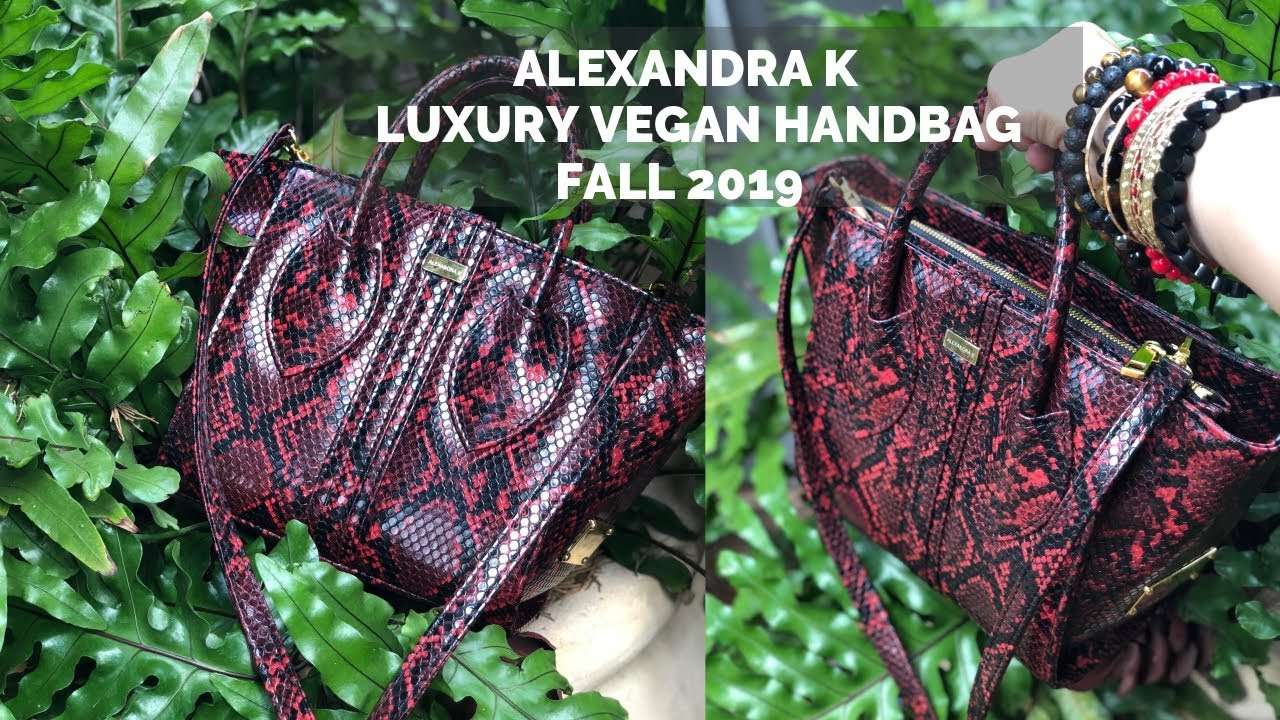 ALEXANDRA K LUXURY VEGAN HANDBAG | FALL WINTER 2019