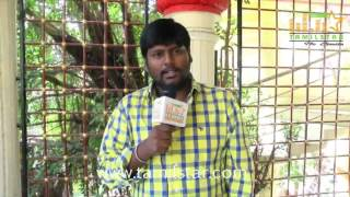 Kumki Ashvin at Maharani Kottai Movie Shooting Spot
