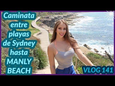Modelos de uñas - Caminata entre playas de Sydney - CURL CURL a MANLY + SHEIN HAUL - VLOG 141