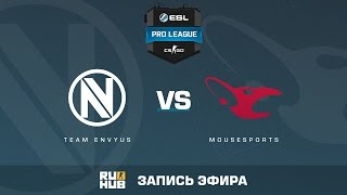 Team EnVyUs vs. mousesports - ESL Pro League S5 - de_nuke [CrystalMay, ceh9]