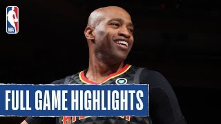 HAWKS at KNICKS | Vince ERUPTS for 14 PTS in 2ND QUARTER!  | 2019 NBA Preseason by NBA