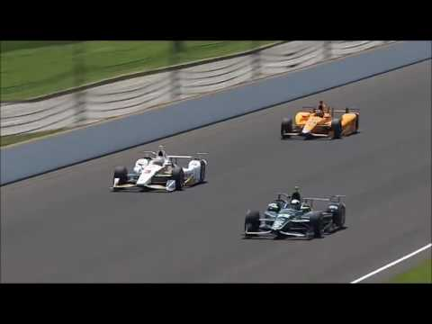 Fernando Alonso double Overtake Indy 500