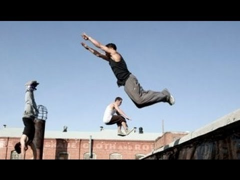 Parkour, Free Running, and Capoeira with Team Zoic