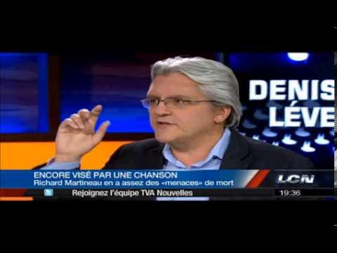 Richard Martineau sur le K6A !?! à Denis Levesque (LCN)