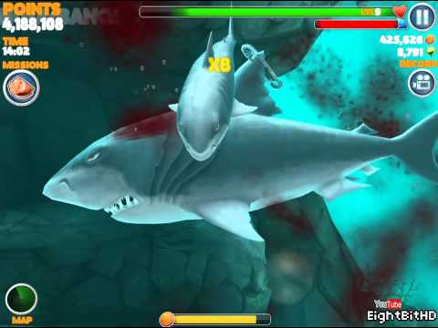 Hungry Shark Evolution Megalodon Gameplay HD 1080p