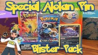 1st Alolan Pin Blister pack by Demon SnowKing