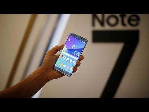 ΗΠΑ: Ανακαλούνται όλα τα Samsung Galaxy Note 7