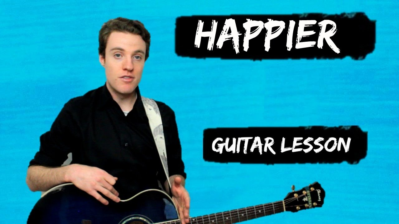 Ed Sheeran – Happier | Easy Acoustic Guitar Lesson | DIVIDE guitar tutorials