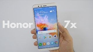 Huawei Honor 7X Mid-Range Camera Smartphone Unboxing & Overview