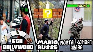 Video PARODIE JEUX VIDEO : GTA Bollywood / Mario Russe / Mortal Kombat Arabe MP3, 3GP, MP4, WEBM, AVI, FLV Mei 2017