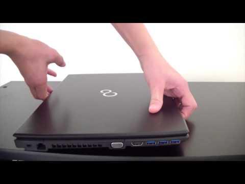 Unboxing Fujitsu Lifebook AH544M2701IT