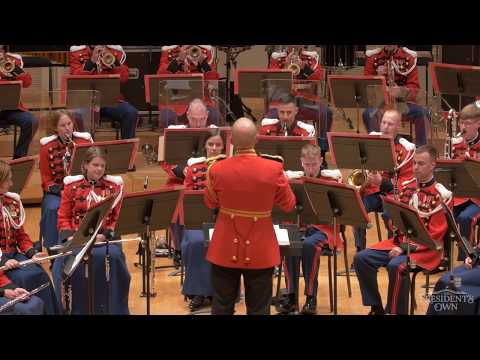 "GRAINGER Children's March, ""Over the Hills and Far Away"" - U.S. Marine Band - Tour 2018"
