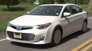 2013 Toyota Avalon Hybrid - Drive Time Review With Steve Hammes