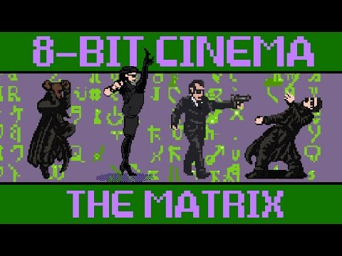 8bit game version of The Matrix