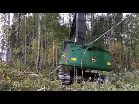 Waratah h415x deere 903j (видео)