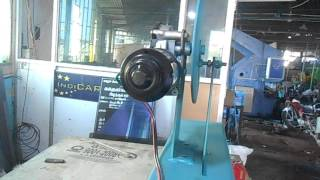 MECHANICAL  ENGG PROJECT MOTORISED WASHER MAKING MACHINE HI-TECH RESEARCH FOUNDATION