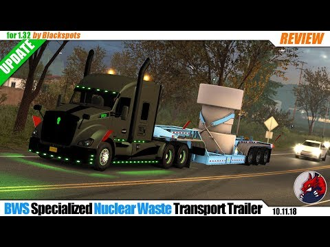 BWS Specialized Nuclear Waste Trailer v1.0 1.32.x