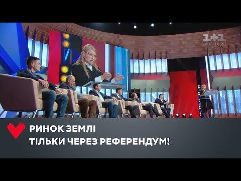 Юлія Тимошенко: «Ні!» продажу землі