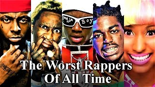 Video Top 50 - The Worst Rappers Of All Time MP3, 3GP, MP4, WEBM, AVI, FLV Juni 2018