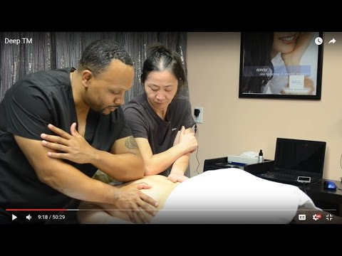 Deep Tissue Massage  CEU Training At The Medi-Spa On Youtube