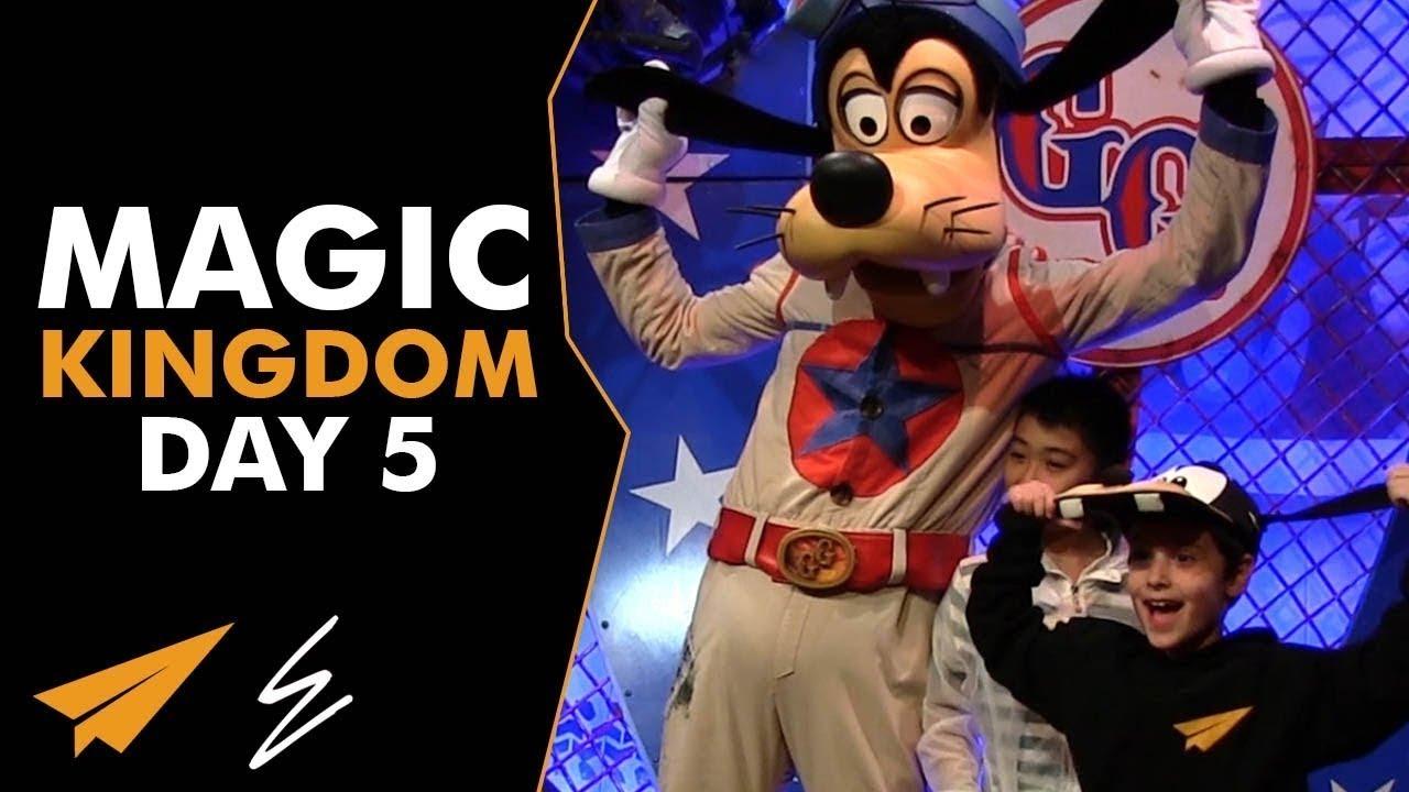 Magic Kingdom - Disney Day 5 - #LifeWithEvan
