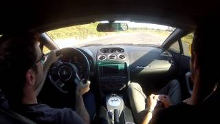 Merignac France  City new picture : Lamborghini Gallardo - Circuit Mérignac, France