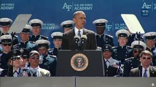 Colorado Springs (CO) United States  city photo : President Obama Addresses the 2016 U.S. Air Force Academy Graduates