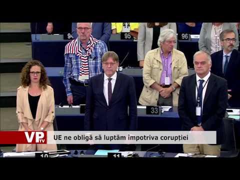 UE ne obligă să luptăm împotriva corupției